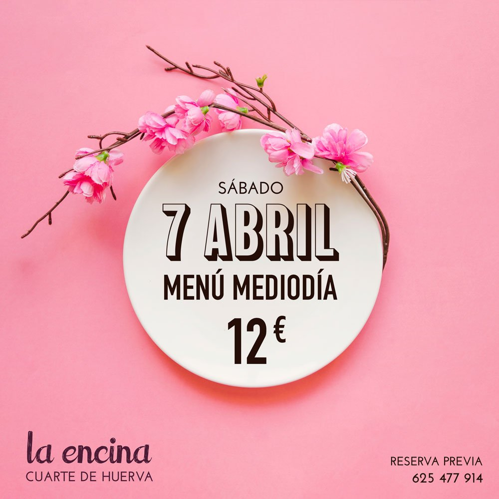 Comida celebración primavera, Restaurante La Encina, Cuarte de Huerva