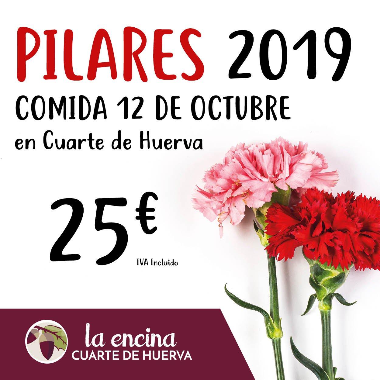 Comida Pilares 2019 en La Encina Restaurantes